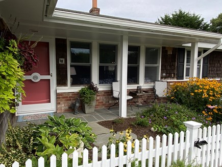 Chatham Cape Cod vacation rental - Comfy front porch, perfect for viewing spectacular sunsets!