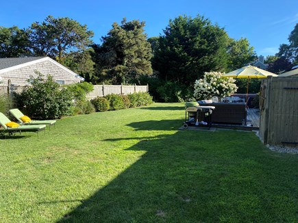 Chatham Cape Cod vacation rental - Spacious, private, fenced-in back yard