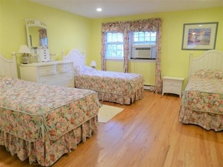 Chatham Cape Cod vacation rental - Another View of 2nd Floor Bedroom with 3 Twins