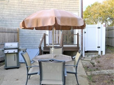 Chatham Cape Cod vacation rental - Another View of Patio and Outdoor Shower