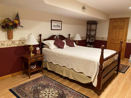 Brewster Cape Cod vacation rental - Spacious bedroom with queen bed. Linens provided.