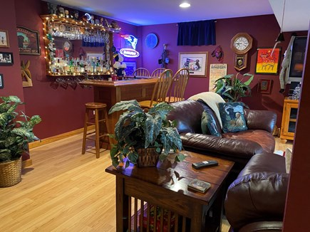 Brewster Cape Cod vacation rental - Bar area