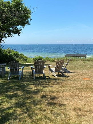 Falmouth Cape Cod vacation rental - Lawn on water side