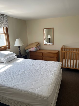 Dennis Sands Cape Cod vacation rental - A Queen for Mom and Dad, and a crib for the newest beach goer.