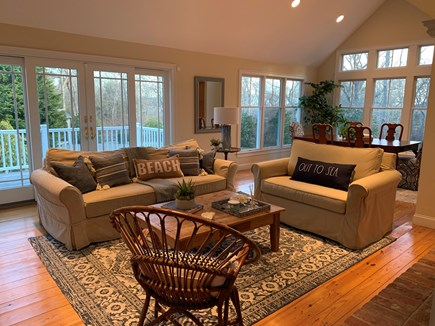Chatham Cape Cod vacation rental - Bright and open living room