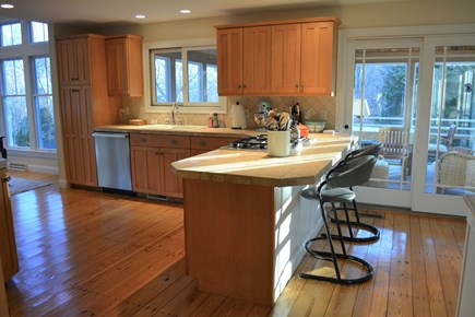 Chatham Cape Cod vacation rental - Immaculate kitchen just beside the sitting porch