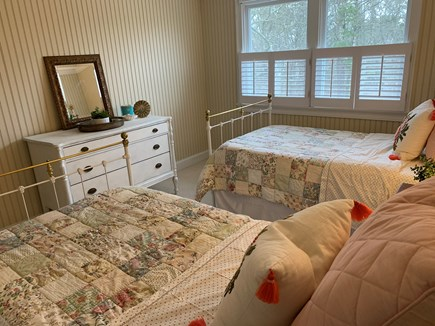 Chatham Cape Cod vacation rental - Upstairs bedroom with two twins