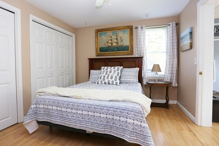 Brewster Cape Cod vacation rental - Lower Level Bedroom w/Queen Bed
