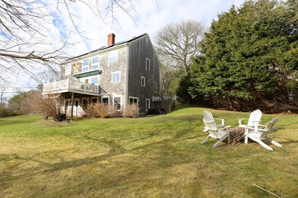 Brewster Cape Cod vacation rental - Outside Yard w/fire pit