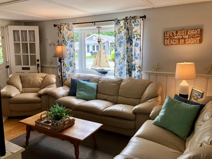 West Yarmouth Cape Cod vacation rental - Living Room Bay Window