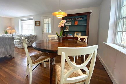 Osterville Cape Cod vacation rental - Dining Area, open to Living Room.