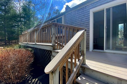 Osterville Cape Cod vacation rental - Lovely deck.