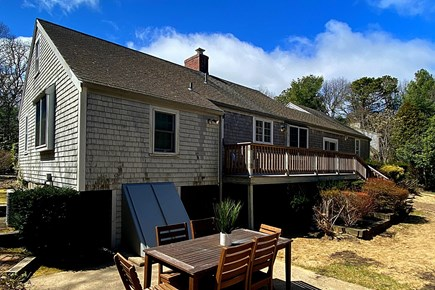 Osterville Cape Cod vacation rental - Patio located off deck.