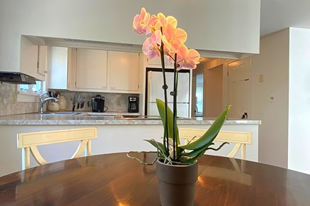 Osterville Cape Cod vacation rental - There is room to dine in the kitchen, as well.