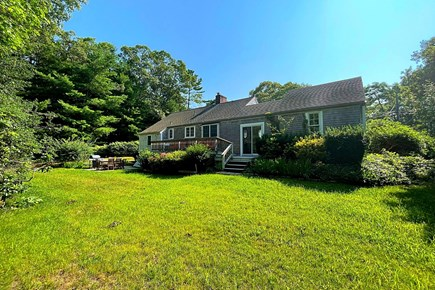 Osterville Cape Cod vacation rental - Large back yard.