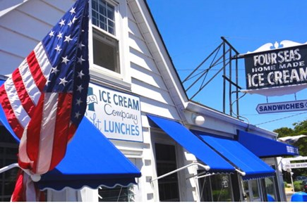 Osterville Cape Cod vacation rental - Home is close to award-winning Four Seas Ice Cream shop.