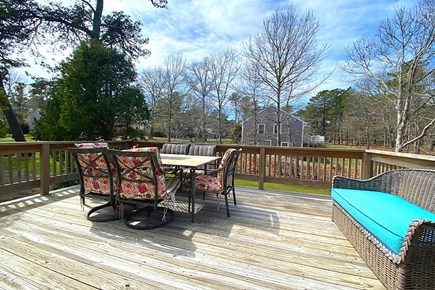 South Yarmouth Cape Cod vacation rental - Large Deck to Soak in the Sun.