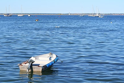 South Yarmouth Cape Cod vacation rental - Trailer your boat and drop it into the river.