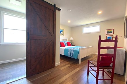 South Yarmouth Cape Cod vacation rental - Entrance to Full Bathroom of Main Bedroom Suite.