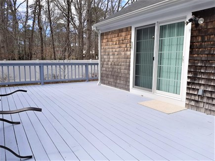 West Yarmouth Cape Cod vacation rental - Sliders to deck