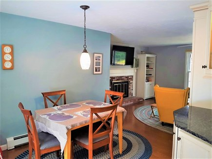 West Yarmouth Cape Cod vacation rental - Open dining area