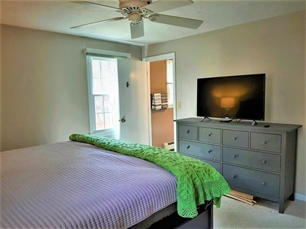 West Yarmouth Cape Cod vacation rental - Master with Roku TV