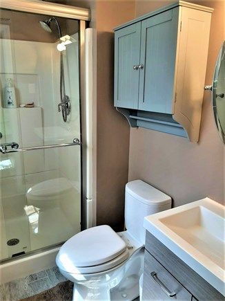 West Yarmouth Cape Cod vacation rental - Private master bath with shower