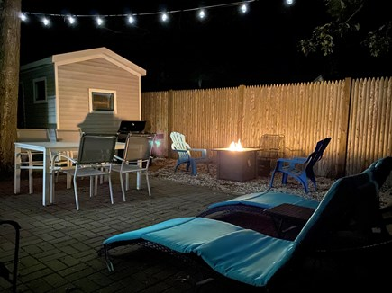 South Yarmouth/Bass River Cape Cod vacation rental - End your day under the stars, relaxing by the fire.