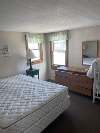 Dennis Cape Cod vacation rental - A queen for Mom and Dad, and a crib for the newest beach goer.