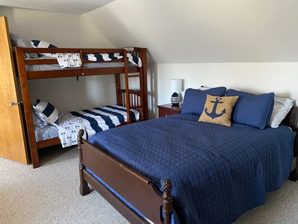 Falmouth Cape Cod vacation rental - Twin bunk beds - upsatirs