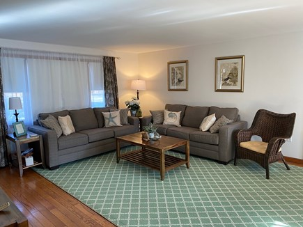 Falmouth Cape Cod vacation rental - Spacious Living Room w/ 55 inch TV