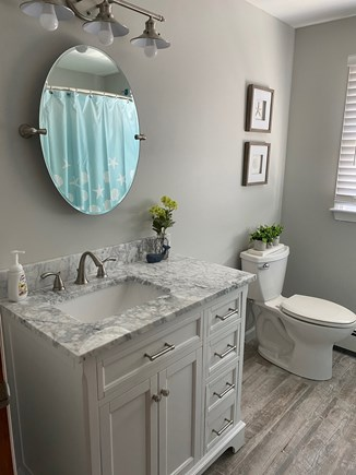 Falmouth Cape Cod vacation rental - completely renovated Bathroom w/tub - upstairs
