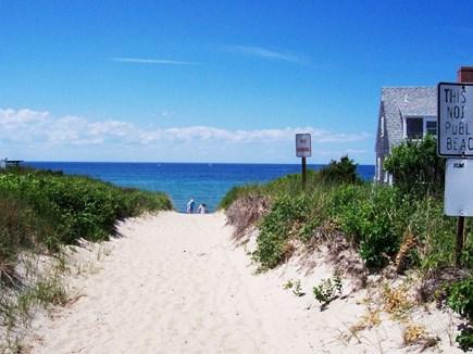 Dennis Cape Cod vacation rental - Around the corner is the sandy neighborhood beach