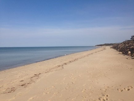 Dennis Cape Cod vacation rental - Nothing but white sandy beach