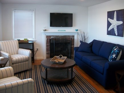 Dennis Cape Cod vacation rental - Sunny living room with sleep sofa