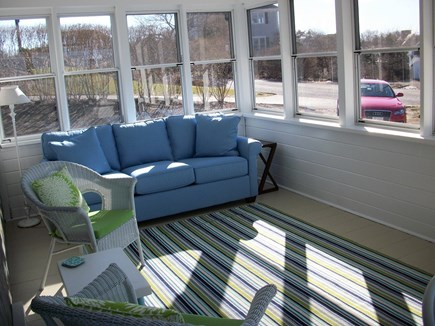 Dennis Cape Cod vacation rental - Lovely sunroom with ocean views
