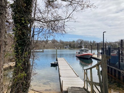 Falmouth, Woods Hole Village Cape Cod vacation rental - Community dock and kayak launch in front of property.