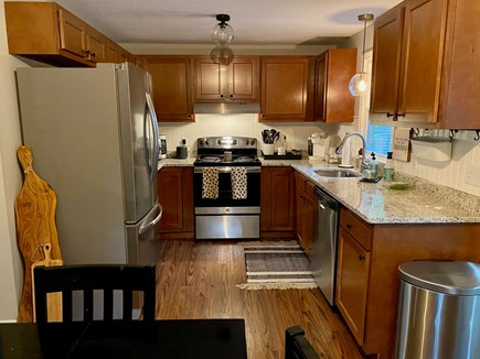 East Falmouth Cape Cod vacation rental - Kitchen with new appliances