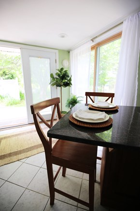 Yarmouth Cape Cod vacation rental - Breakfast nook