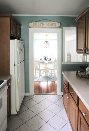 Yarmouth Cape Cod vacation rental - Kitchen looking to dining room