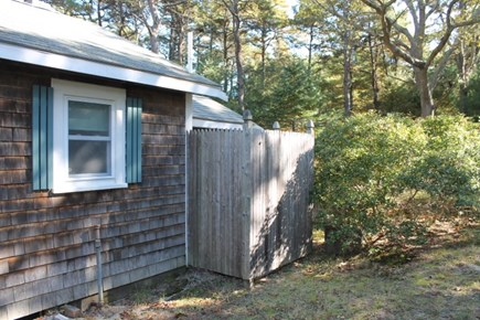 Eastham, Thumpertown - 228 Cape Cod vacation rental - Outdoor Shower
