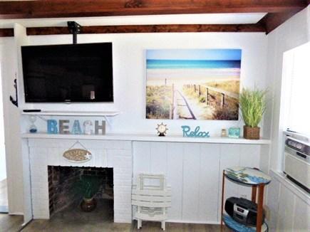 Dennis Port Cape Cod vacation rental - Flat screen TV in Living room