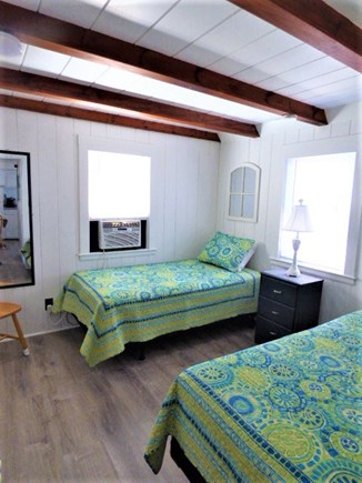 Dennis Port Cape Cod vacation rental - 3rd bedroom with twin beds