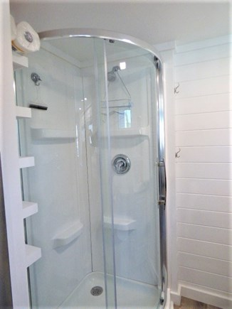 Dennis Port Cape Cod vacation rental - New Shower in Bathroom
