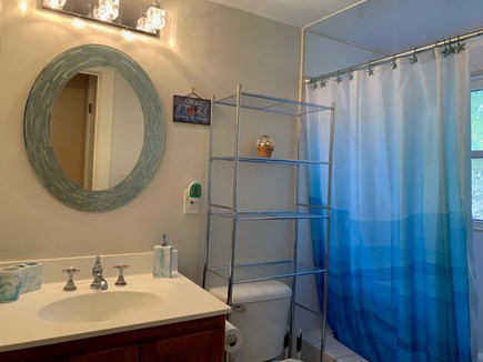 South Dennis Cape Cod vacation rental - Full bathroom with tub