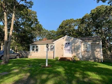 South Dennis Cape Cod vacation rental - Front of House- Sitting on a quiet cul de sac street.