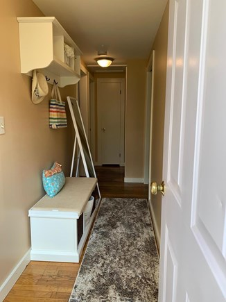 South Dennis Cape Cod vacation rental - Entranceway with two big closets to each side of entrance