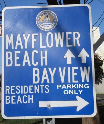 Dennis Cape Cod vacation rental - Beach Sign