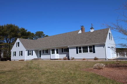 East Dennis Cape Cod vacation rental - Front of home (early spring)