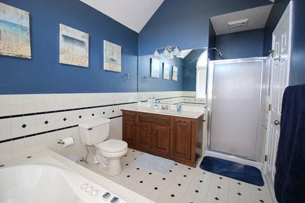 East Dennis Cape Cod vacation rental - Primary Bedroom Bathroom